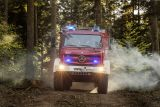 Kirchzarten fire brigade fights...